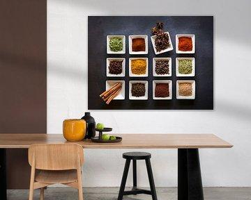 11339084 Mozaïek van kruidenschaaltjes van BeeldigBeeld Food & Lifestyle