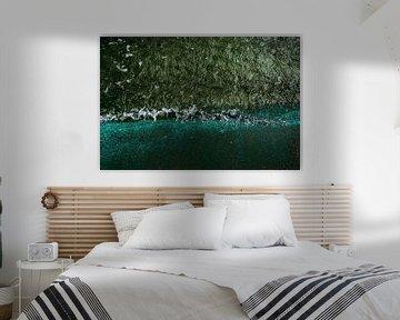 Emerald sea van Yana Spiridonova