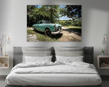 Cubaanse auto van Rick van Oers