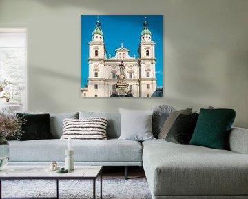 Salzburger Dom van Martin Wasilewski