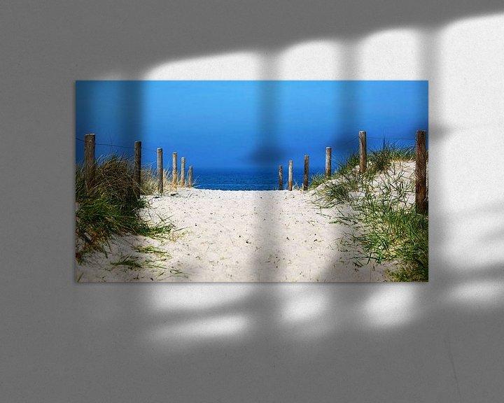 Beispiel: Der Weg zum Meer von Frank Herrmann