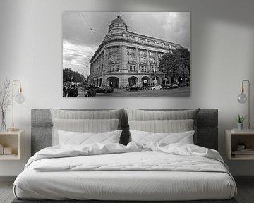 Amsterdam Leidseplein-Hirsch-Gebäude von Marianna Pobedimova