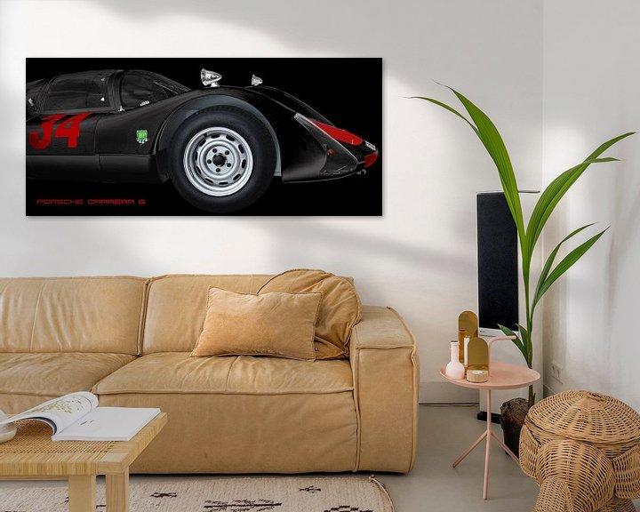 Beispiel: Porsche 906 Carrera 6 von aRi F. Huber