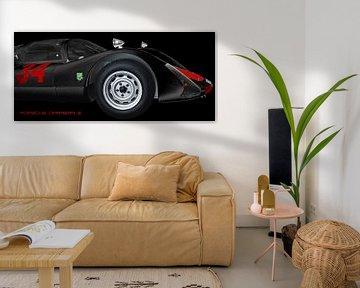 Porsche 906 Carrera 6 van aRi F. Huber
