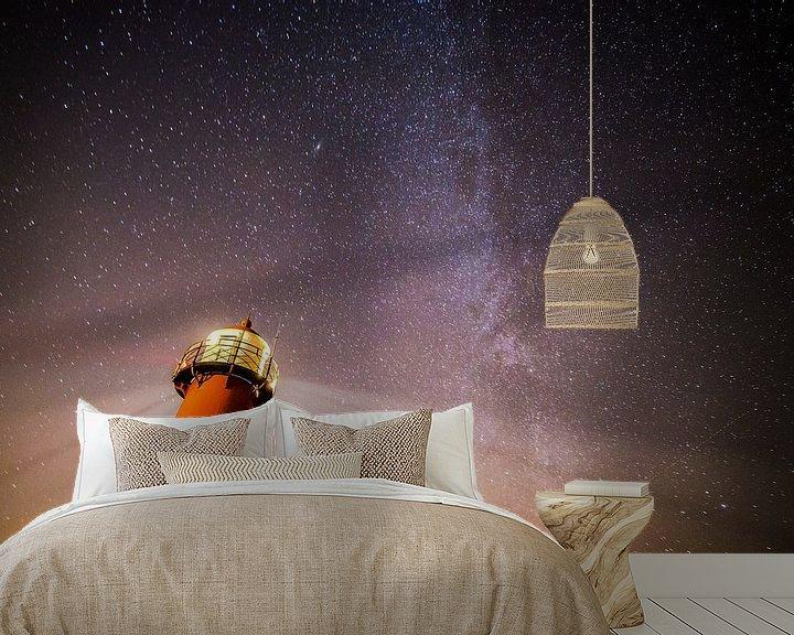 Sfeerimpressie behang: Milkyway van Robin Hardeman
