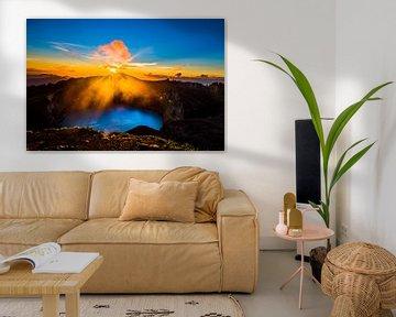 Magischer Vulkan Kelimutu von Corrine Ponsen