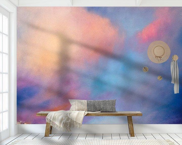Sfeerimpressie behang: Blid stilhed van Annette Schmucker