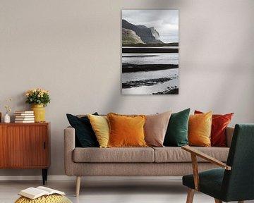 Küste auf Hornstrandir, Island von Jan Schuler