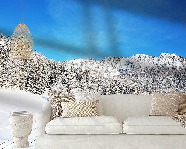 Impression: Paysage de neige sur Frank Herrmann