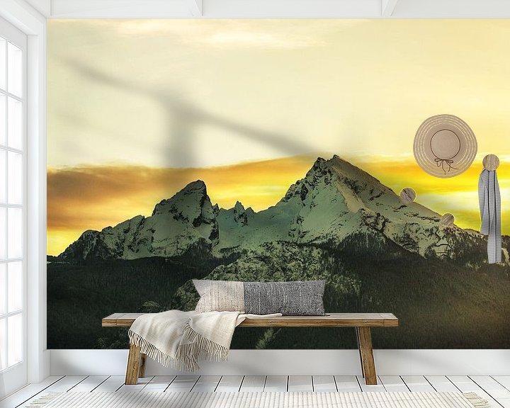 Impression: Watzmann au coucher du soleil sur Frank Herrmann