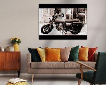 Moto Guzzi van Nicky`s Prints