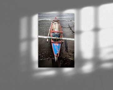 Vissersboot in de Filipijnen van Yvette Baur