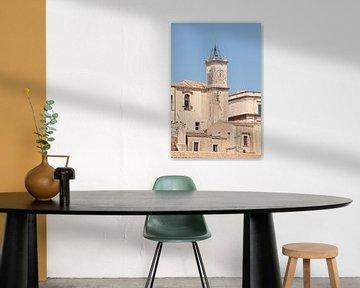 Kirche, Häuser, Dächer, Altstadt, Noto, Sizilien von Torsten Krüger