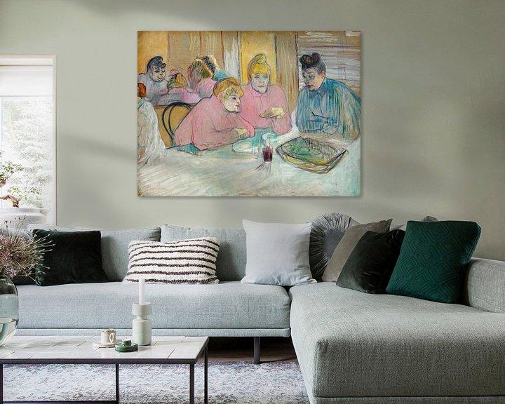 Beispiel: Die Damen im Speisesaal, Henri de Toulouse-Lautrec - 1893