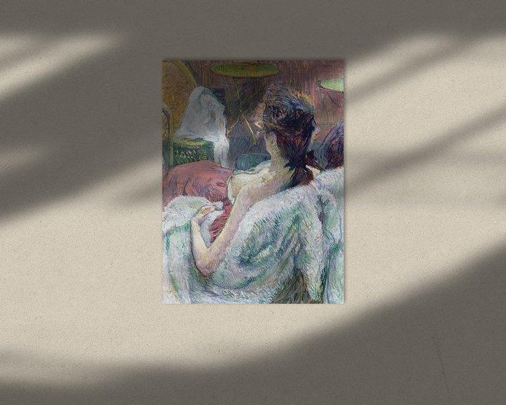 Beispiel: Ruhendes Modell, Henri de Toulouse-Lautrec - 1889
