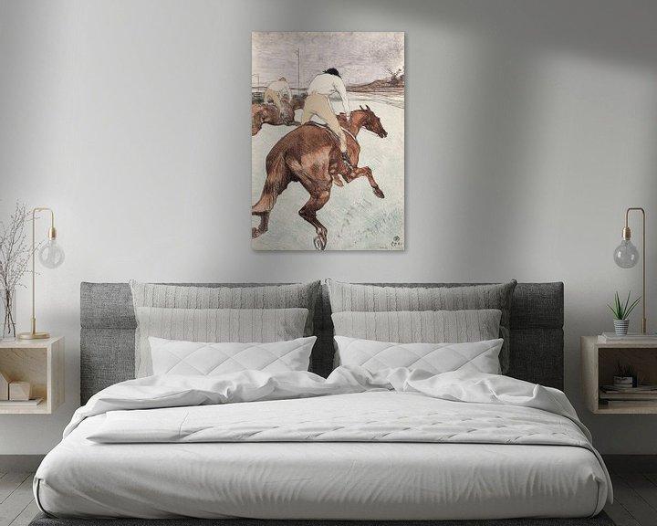 Beispiel: Der Jockey, Henri de Toulouse-Lautrec - 1899