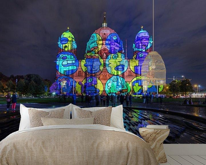 Impression: La cathédrale de Berlin sous un éclairage particulier sur Frank Herrmann