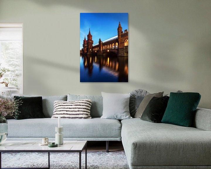 Impression: Oberbaumbrücke Berlin sur Frank Herrmann