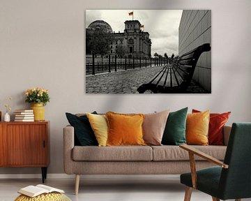 Rijksdag Berlijn - zetel van de Duitse Bondsdag