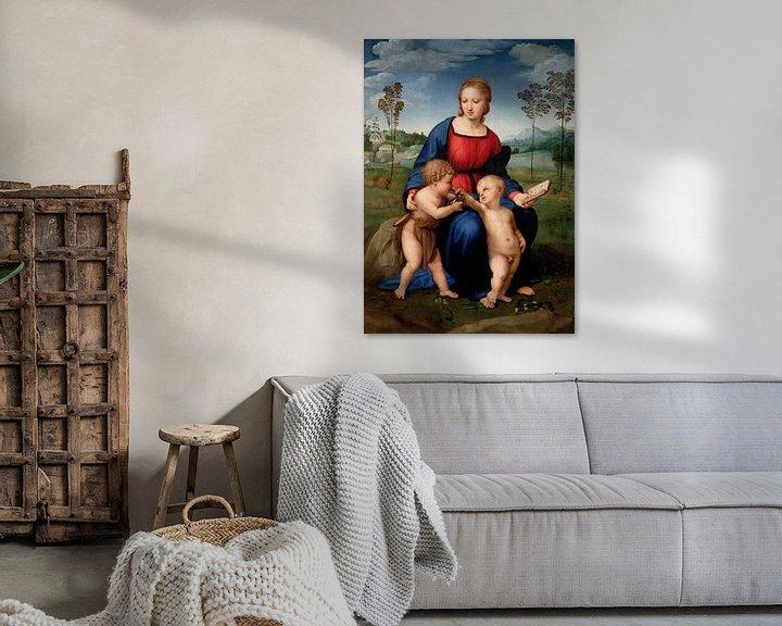 Beispiel: Madonna des Stieglitzers, Rafaël