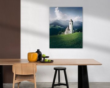 Pfarrkirche Tessenberg in Tirol von Steffen Peters