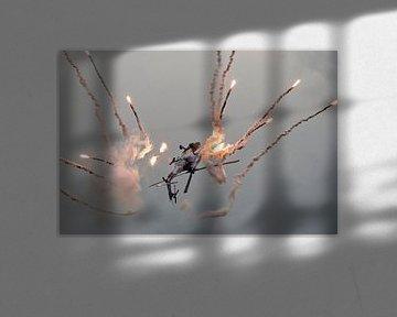 Apache demo met flares