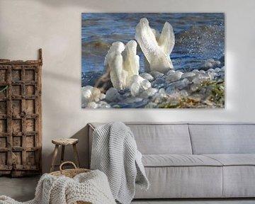 ijspegels2 van Annemarie Kroon