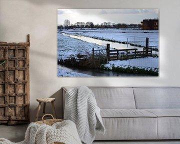 sneeuwlandschap van Annemarie Kroon