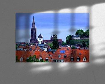 Stadtdächer Freiburg von Patrick Lohmüller