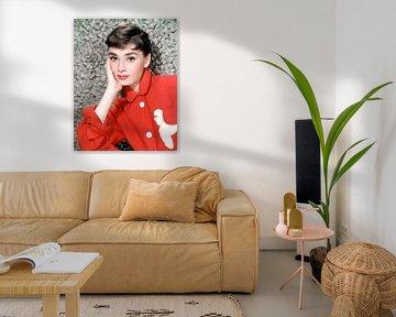 Audrey Hepburn in dem Film 'Sabrina von Bridgeman Images