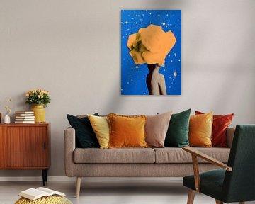 Secret woman _ Orange van Anne Storno