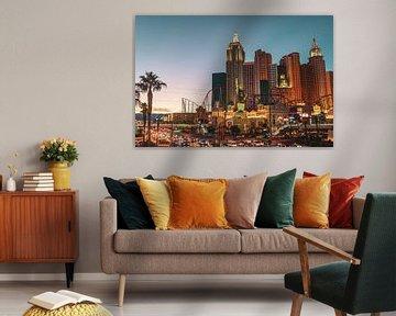 The city that never sleeps! Las Vegas! van Jimmy van Drunen
