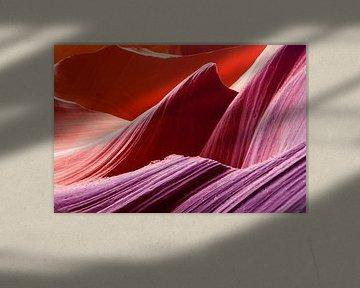 Kleurenpallet in de rotsen van Jimmy van Drunen
