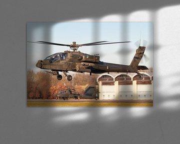 Apache-Hubschrauber bereit für eine neue Mission! von Jimmy van Drunen