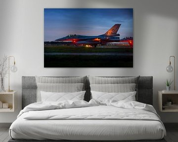 F-16 straaljager klaar voor een nieuwe missie! van Jimmy van Drunen