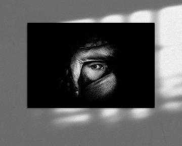 fotoposter of  wanddecoratie  eye art