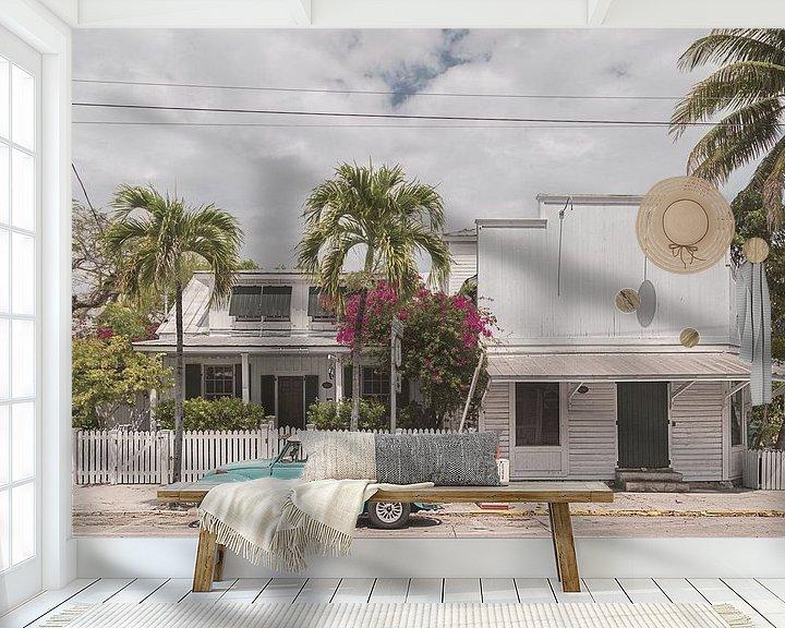 Sfeerimpressie behang: Key West II van Michael Schulz-Dostal