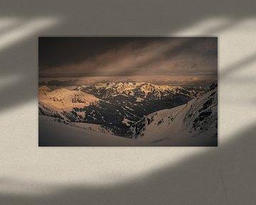 Mountainview of Hochzillertal van Jöran Dijkstra