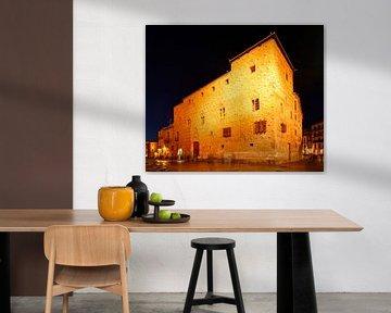 Muschelhaus Casa de Las Conchas  , Salamanca, Castilla y Leon, Kastilien-Leon, Spanien, Europa von Torsten Krüger