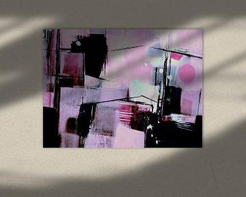 Komposition in Rosa von Claudia Neubauer
