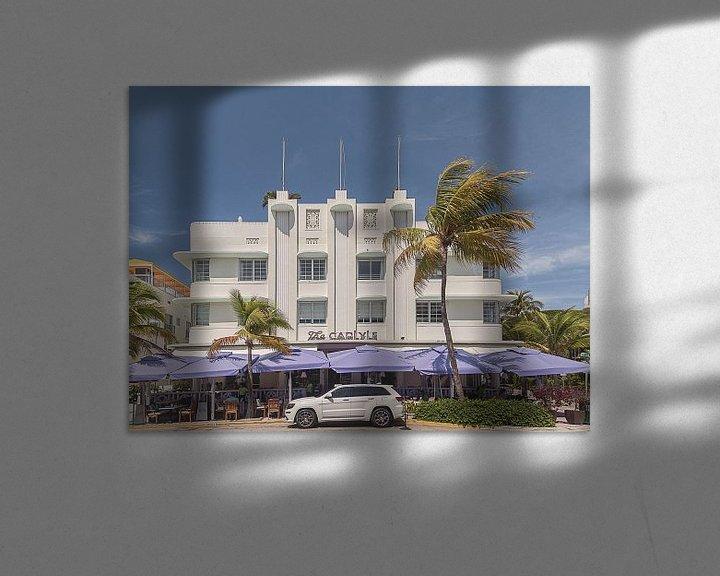 Sfeerimpressie: Miami Beach IV van Michael Schulz-Dostal