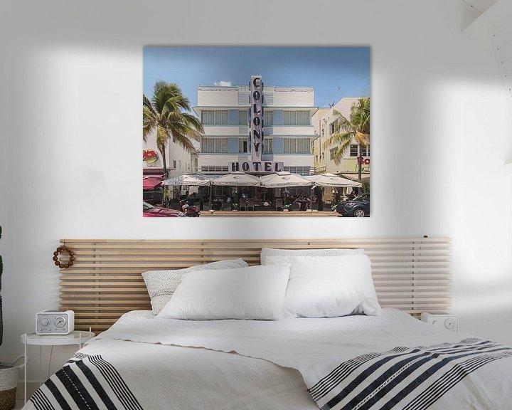 Sfeerimpressie: Miami Beach II van Michael Schulz-Dostal