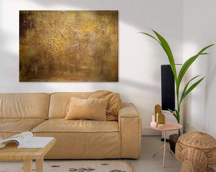 Sfeerimpressie: Gouden compositie van Sander Veen