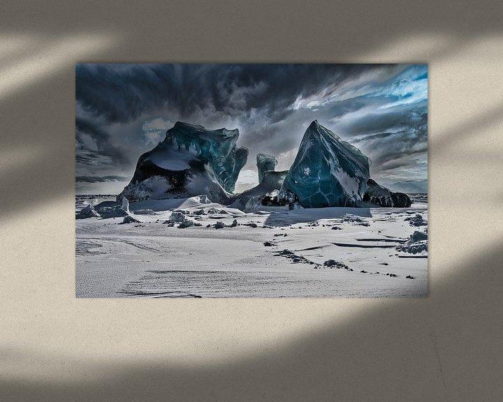 Sfeerimpressie: Pakijs in Asgardbukta van Kai Müller