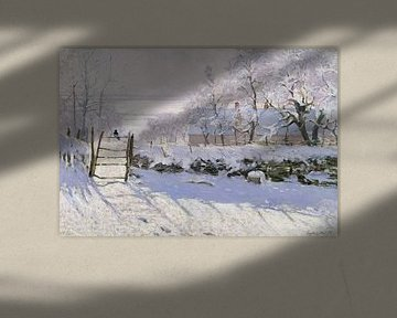 Die Elster, Claude Monet