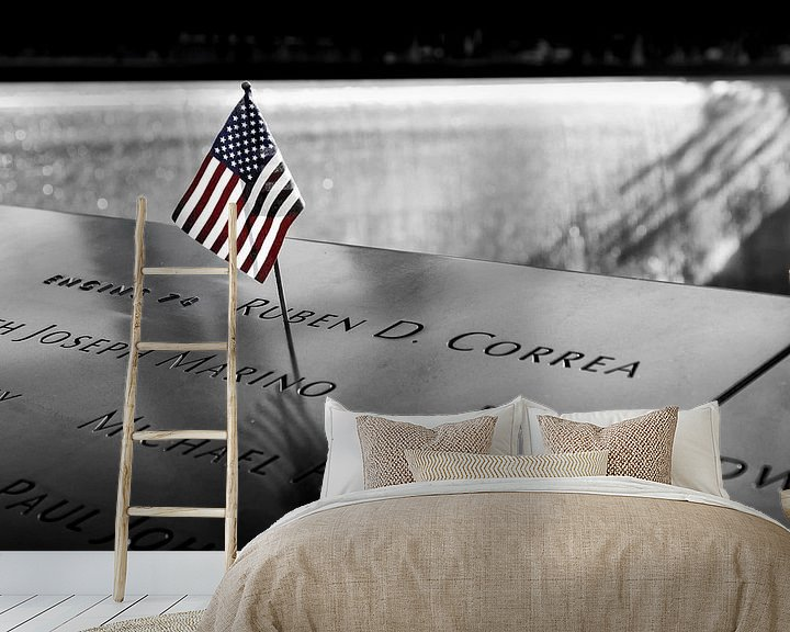 Sfeerimpressie behang: Helden van 9/11 van Daan van der Heijden