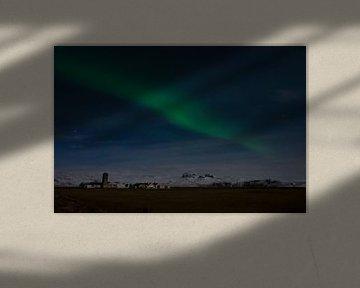 Nordlicht in Island von Hans Peter Debets