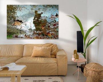 Amsterdam  herfst reflectie van Marianna Pobedimova