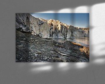 Gletsjer Esmarkbreen in Ymerbukta op Svalbard van Kai Müller