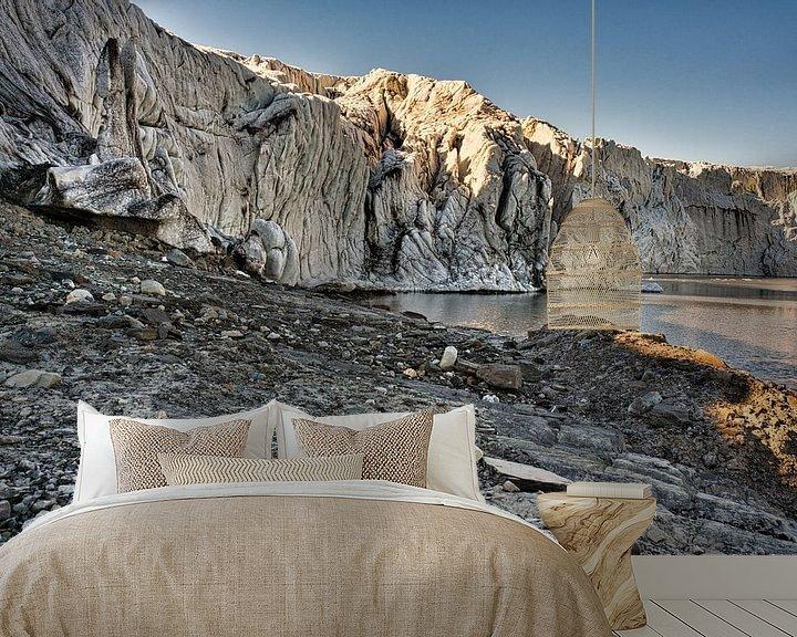 Impression: Le glacier Esmarkbreen à Ymerbukta sur le Svalbard sur Kai Müller